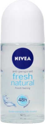 Nivea Fresh Natural Deodorant Roll On For Women