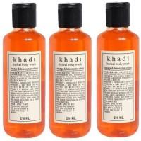 Khadi Herbal Orange And Lemongrass Citrus (630 Ml)