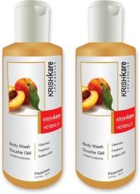Krishkare Herbal Body Wash Peaches