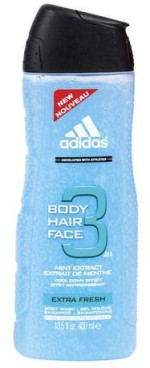 Adidas Mint Extract Cool Down Effect Extra Fresh Body Face Hair Imported