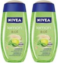 Nivea Lemon And Oil Shower Gel (Pack Of 2) - 500 Ml