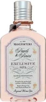 Manufaktura Pearls & Roses Exclusive Spa Bath & Shower Gel