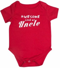 Blue Bus Store Baby Boy's Red Bodysuit
