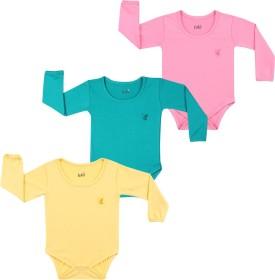 Lula Baby Girl's Pink, Green, Yellow Bodysuit