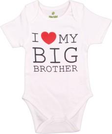 Bio Kid Grapics designer Baby Girl's White Bodysuit