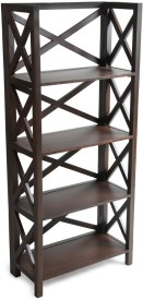 ARRA Solid Wood Open Book Shelf