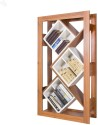 Style Spa Engineered Wood Open Book Shelf (Finish Color - Natural Finish)