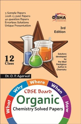 What, Why, Where, When & How of Organic Chemistry CBSE Board Class 12 (2008 - 15 Solved Papers + Sample Papers) 3rd Edition (English) price comparison at Flipkart, Amazon, Crossword, Uread, Bookadda, Landmark, Homeshop18