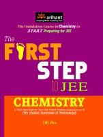 First Step to JEE Chemistry (A Must Read Book for Class 10th Passed Students Aspiring to go to IITS) (English): Book