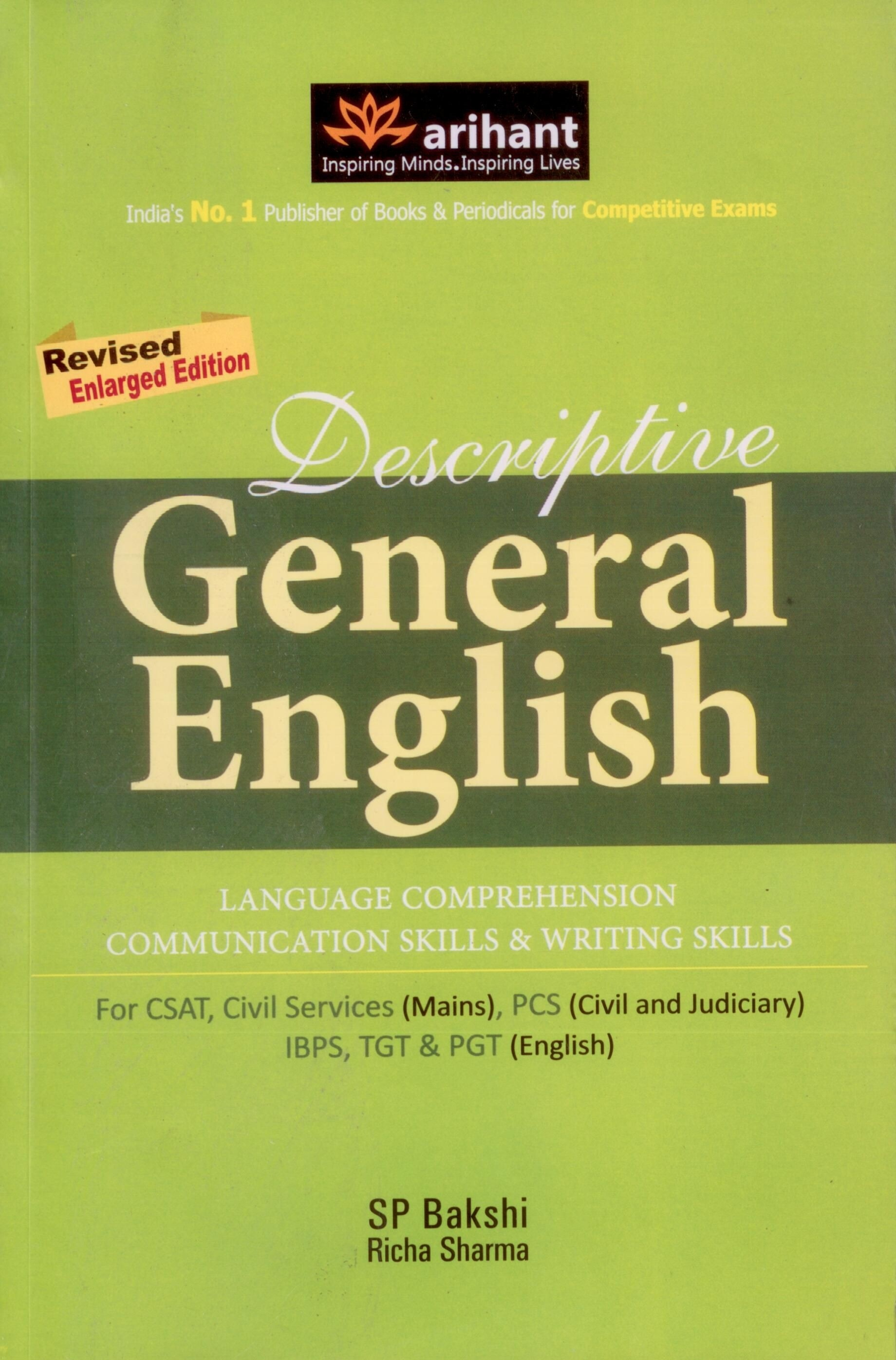 Tips & Techniques in English with for Competitive Exams