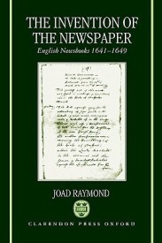 The Invention of the Newspaper (English) (Hardcover)