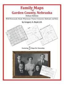 Family Maps of Garden County, Nebraska (English) (Paperback)