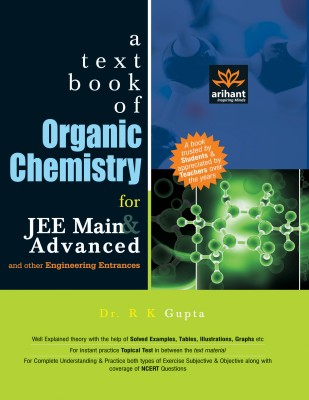 A Textbook of Organic Chemistry for JEE Main & Advanced and Other Engineering Entrance Examinations price comparison at Flipkart, Amazon, Crossword, Uread, Bookadda, Landmark, Homeshop18