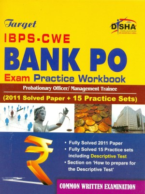 Buy Target IBPS-CWE Bank PO Exam With Practice Workbook (English): Book