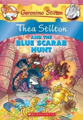 GERONIMO STILTON:#11: Thea Stilton and the Blue Scarab Hunt available at Flipkart for Rs.217