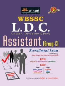 WBSSC L. D. C. Assistant (Group - C) Recruitment Exam : With 5 Model Practice Sets (English) 1st Edition (Paperback)