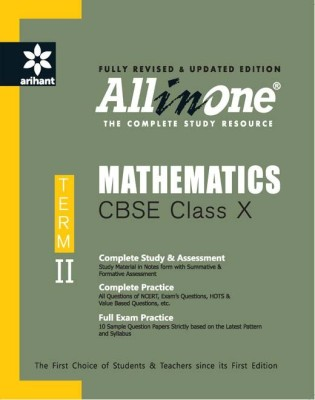 All In One Mathematics CBSE Class 10th Term-Ii (English) 1 Edition price comparison at Flipkart, Amazon, Crossword, Uread, Bookadda, Landmark, Homeshop18
