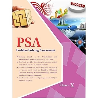 Problem Solving Assessment (PSA) Class 10 (English) price comparison at Flipkart, Amazon, Crossword, Uread, Bookadda, Landmark, Homeshop18