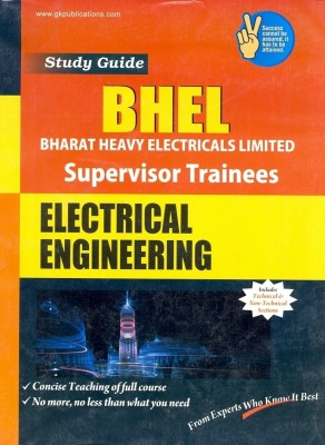 Buy Study Guide To BHEL Electrical Engineering Supervisor Trainees 3rd  Edition: Book