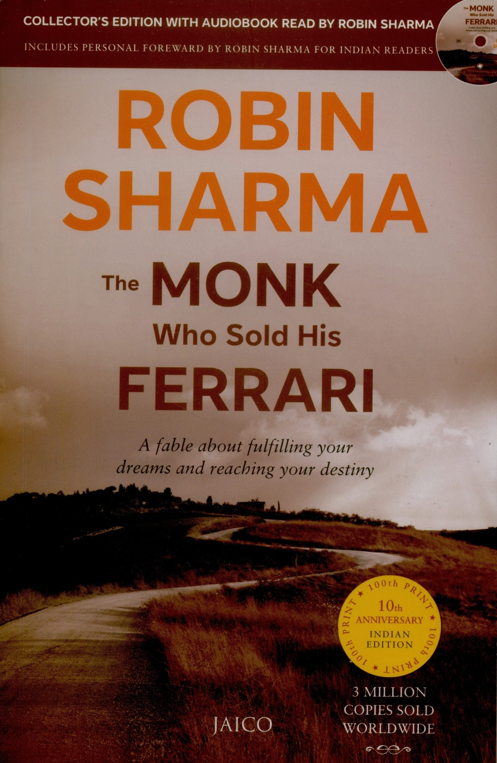 The Monk Who Sold His Ferrari With Cd English Buy