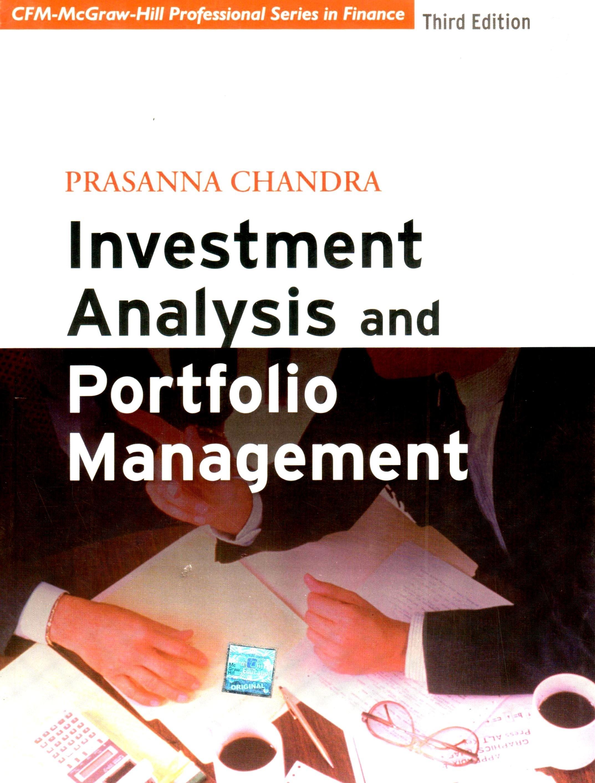 Investment analysis and portfolio management book