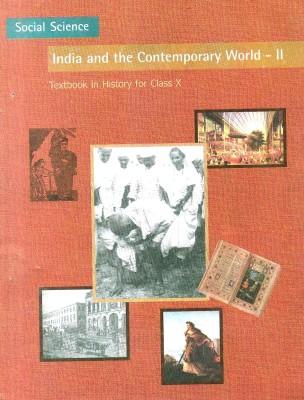NCERT : Social Science India and the Contemporary II : Textbook For Class - X (English) 01 Edition price comparison at Flipkart, Amazon, Crossword, Uread, Bookadda, Landmark, Homeshop18