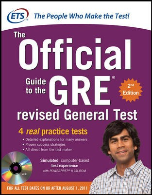 Buy The Official Guide to the GRE Revised General Test (With CD) (English) 2nd  Edition: Book