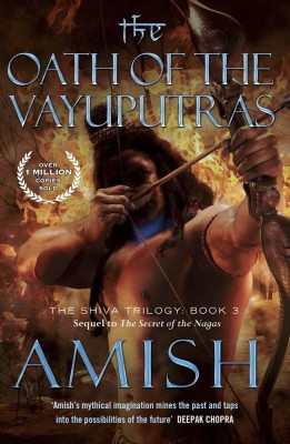 The Oath of the Vayuputras price comparison at Flipkart, Amazon, Crossword, Uread, Bookadda, Landmark, Homeshop18