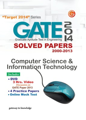 Buy GATE Computer Science and Information Technology (2014) Solved Papers 2000 - 2013 (English) 11th  Edition: Book