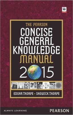 The Pearson Concise General Knowledge Manual - 2015 (English) price comparison at Flipkart, Amazon, Crossword, Uread, Bookadda, Landmark, Homeshop18