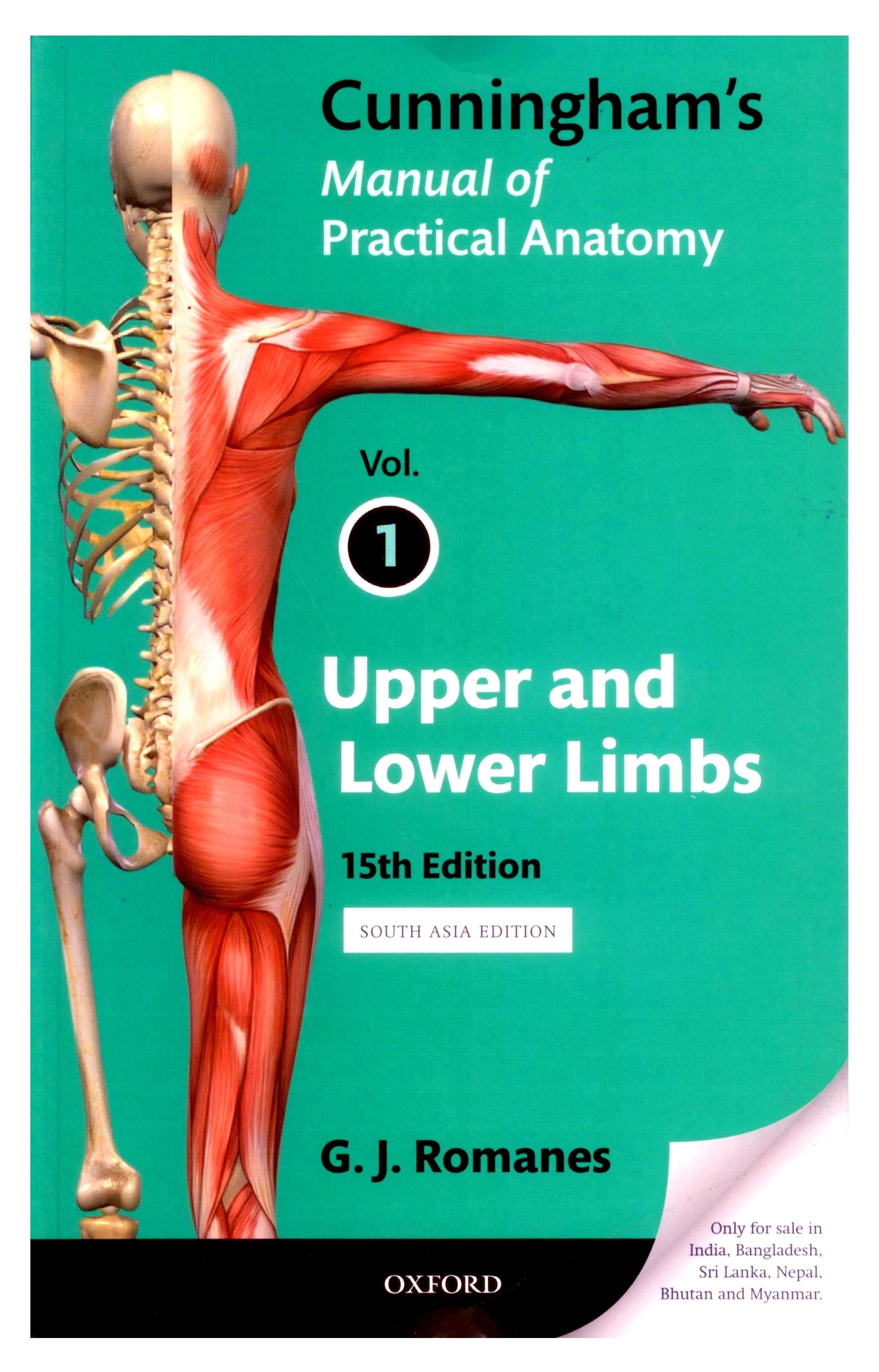 cunningham's manual of practical anatomy 15th edition pdf