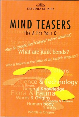 MIND TEASERS: The A For Your Q price comparison at Flipkart, Amazon, Crossword, Uread, Bookadda, Landmark, Homeshop18