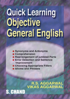 Quick Learning Objective General English 3rd Edition price comparison at Flipkart, Amazon, Crossword, Uread, Bookadda, Landmark, Homeshop18