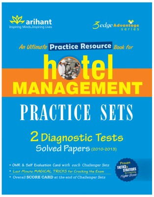 An Ultimate Practice Resource Book for Hotel Management : Practice Sets with 2 Diagnostic Tests 1st Edition price comparison at Flipkart, Amazon, Crossword, Uread, Bookadda, Landmark, Homeshop18