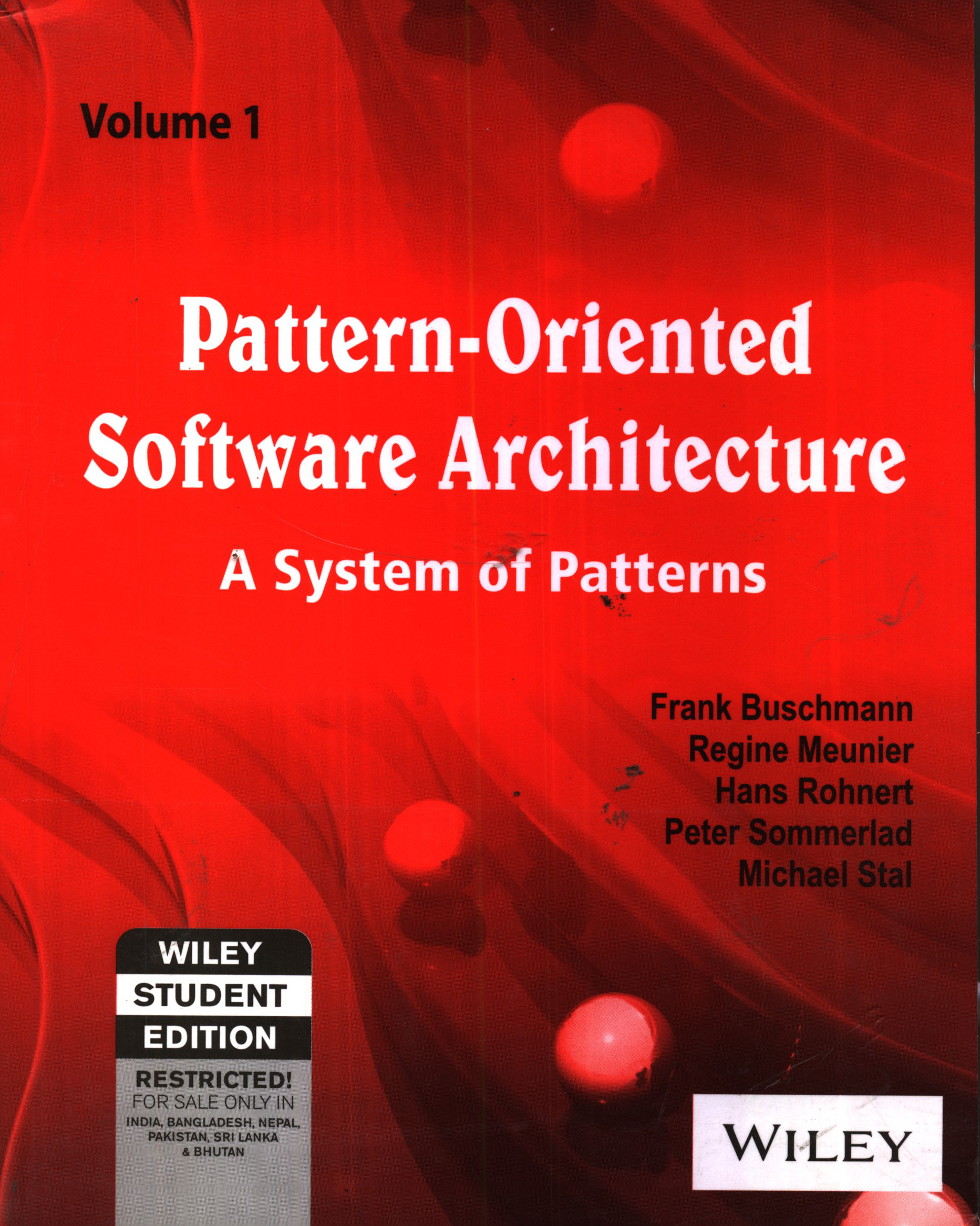 Pattern Architecture Software Pattern-oriented Software