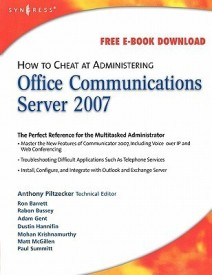 How to Cheat at Administering Office Communicator Server 2007 (English) (Paperback)