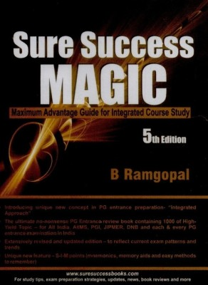 Buy SURE SUCCESS MAGIC (MAXIMUM ADVANTAGE GUIDE FOR INTEGRATED COURSE STUDY) 5th Edition: Book