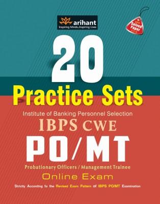 20 Practice Sets IBPS CWE PO/MT Online Exam (English) 5th  Edition price comparison at Flipkart, Amazon, Crossword, Uread, Bookadda, Landmark, Homeshop18