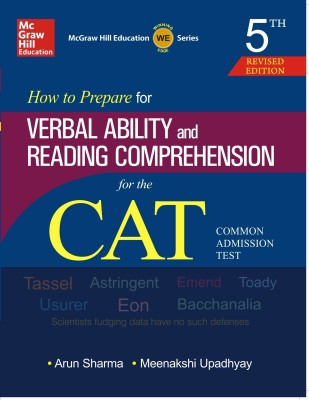 Buy How to Prepare for Verbal Ability and Reading Comprehension for the CAT (English) 5th Edition: Book