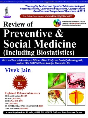 Review of Preventive and Social Medicine (Including Biostatistics) (English) price comparison at Flipkart, Amazon, Crossword, Uread, Bookadda, Landmark, Homeshop18