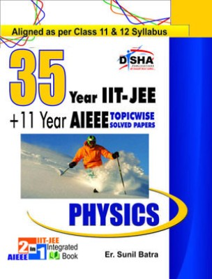 35 Years IIT-JEE + 11 Years AIEEE Topicwise Solved Papers Physics price comparison at Flipkart, Amazon, Crossword, Uread, Bookadda, Landmark, Homeshop18