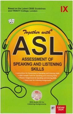 Together with ASL Class 9 (With CD) 1st Edition price comparison at Flipkart, Amazon, Crossword, Uread, Bookadda, Landmark, Homeshop18