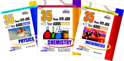 Buy Physics, Chemistry, Mathematics: 35 Years IIT-JEE + 11 Years AIEEE (English) 1st Edition: Book