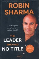 The Leader Who Had No Title (English): Book