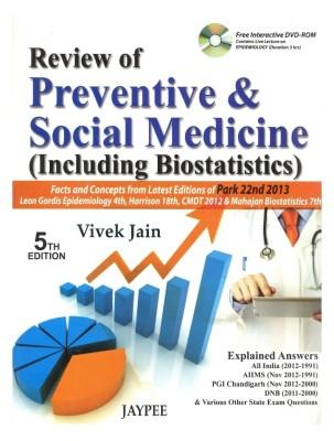 REVIEW OF PREVENTIVE & SOCIAL MEDICINE(INCLUDING BIOSTATISTICS) WITH DVD ROM price comparison at Flipkart, Amazon, Crossword, Uread, Bookadda, Landmark, Homeshop18