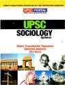 Sociology: UPSC Mains Examination Topic Wise Question Analysis PB  English  1st Edition available at Flipkart for Rs.150