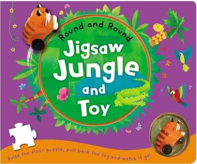 Buy Round and Round: Jigsaw Jungle & Toy: Book