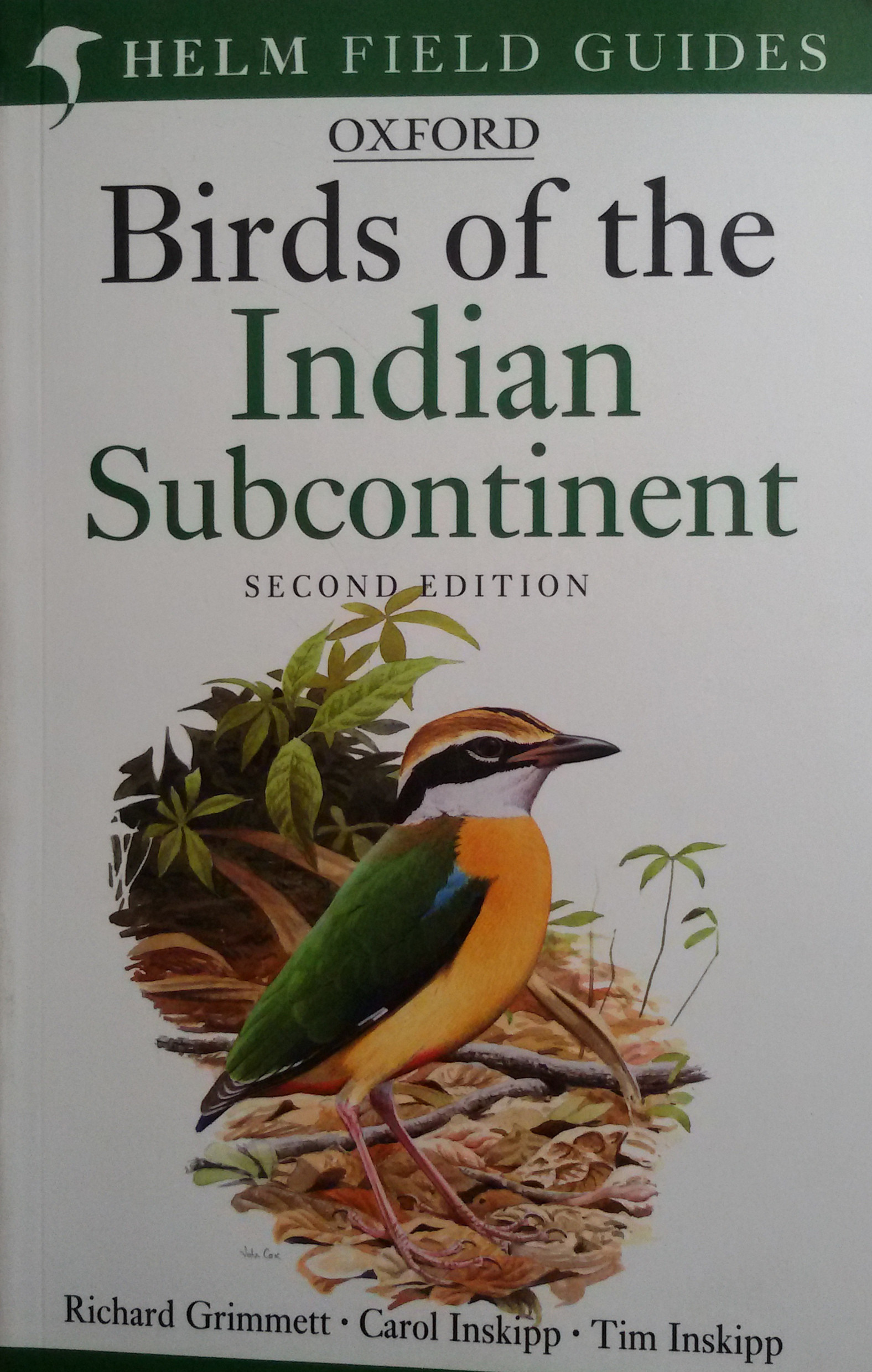Bird Of The Indian Subcontinent Helm Field Guides Price In
