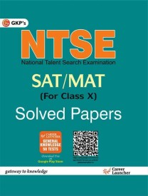 NTSE For Class X Solved Paper SAT + MAT (English) 6th  Edition (Paperback)