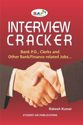 Interview Cracker: Bank P. O. Clerks and Other Bank/Finance Related Jobs price comparison at Flipkart, Amazon, Crossword, Uread, Bookadda, Landmark, Homeshop18